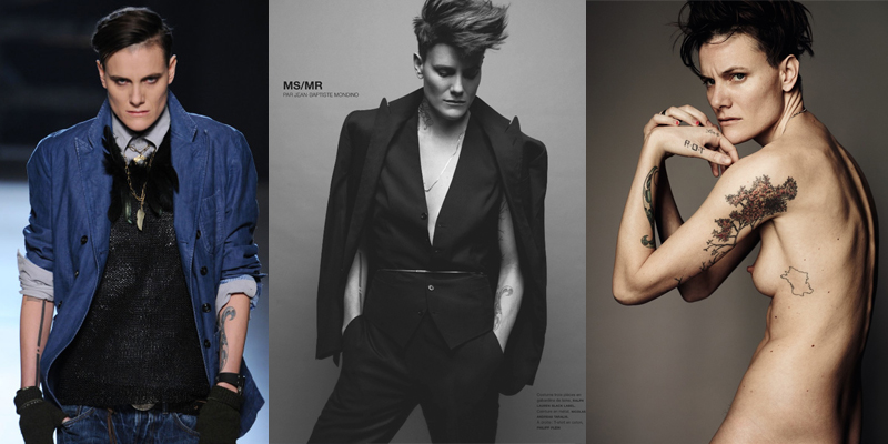 Masculine Female Models Fashion Article